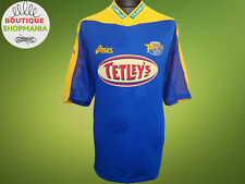 Leeds Rhinos Home 2002 Eur Super League Asics Rugby Shirt Jersey Mailot Maglia