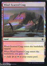 MTG - Khans of Tarkir - Wind-Scarred Crag - Foil - NM