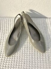 Sportscraft grey  Leather flat Shoes Size 38.5 in Great condition