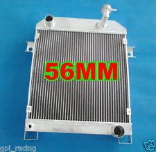 56MM ALUMINUM RADIATOR JAGUAR MARK 2 MK2 MK II DAIMLER 2.5 V8; V8-250 MT