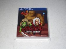Devious Dungeon Limited Edition Sony PlayStation Vita Sealed Import 1250 Copies