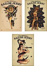 poster Tattoo Vintage SJ  set of three posters