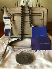 Rebecca Minkoff Avery Crossbody Bag (GREY) (100% AUTHENTIC) (NWT) Free shipping