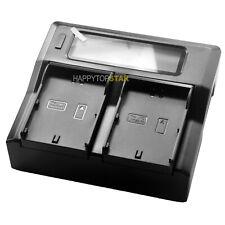 Digital LCD Quick Dual Charger for JVC SSL-JVC50 JVC70 JVC80 GY-HM600 GY-HM650