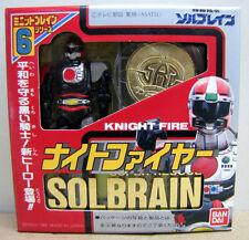Bandai Super Rescue Solbrain Knight Fire  Made in Japan 1991