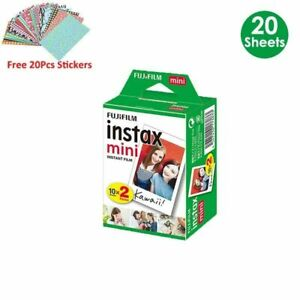 Fujifilm Instax Mini Film White  20  Sheets For FUJI Instant Photo