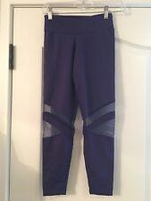 New Women's Designer So Danca Purple Leggings Size M