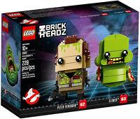 LEGO BRICKHEADZ • 41622 GHOSTBUSTERS PETER VENKMAN & SLIMER RITIRATO NUOVO