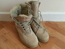 Tracpac Desert Fox Assault / Patrol Combat Boots - uk 8  hardly used