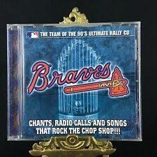 Atlanta Braves The team of the 90's Ultimate Rally CD 27th Anniversary Gift