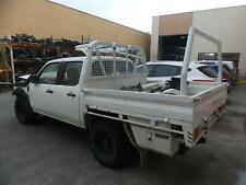 FORD RANGER MAZDA BT50 WHITE STEEL BTB UTE STEEL TRAY DUAL CAB