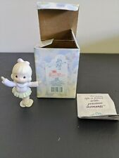 New ListingPrecious Moments Sugar Town- Mazie Ice Skating Figurine 184055 - Heart 1996 Vguc