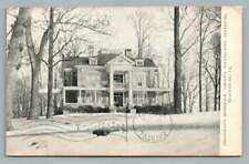 Presidents House VPI Blacksburg VIRGINIA TECH Antique VATECH University 1907