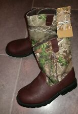 NEW Toddler Boys Girls Healthtex REALTREE Camo Country Western Cowboy Boots 4