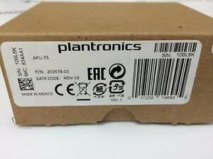 Plantronics APU-75 Headsetadapter EHS P/N 202678-01 EAN 017229146945  NEU OVP