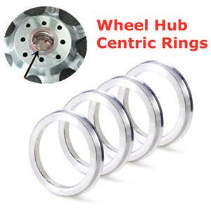 Wheel Center Ring Transparent Vinyl Tube Aluminium Alloy Wheel Hubrings Silver