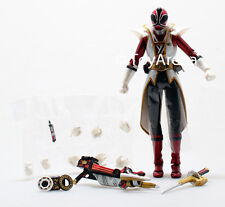 LOOSE Red from S.H. Figuarts Power Rangers Super Samurai Metallic Coating Set