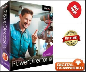 PowerDirector 19 Ultimate ✅Full Version Activated For Windows✅Lifetime
