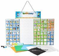 Magnetic Behavior/ Star/ Reward/ Responsibility Chore Chart, One / Multiple Kids