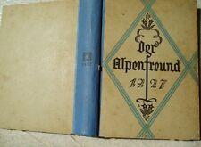 470 de los Alpes amigo 1927 ilustradas mes cuadernos!!!