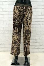 Pantalone Donna GIANFRANCO FERRE Taglia 42 Jeans Pants Woman Palazzo Vita Alta