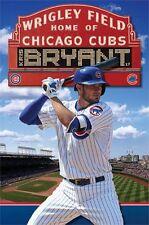 KRIS BRYANT - CHICAGO CUBS POSTER - 22x34 MLB BASEBALL 14185