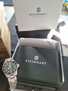 Steinhart Ocean Vintage Military OVM Excellent Mint 39mm Swiss Automatic Watch