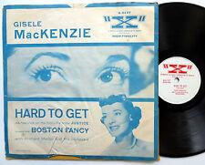 """GISELE MacKENZIE Hard to get / Boston fancy """"X"""" 78rpm PIC SLEEVE 1955 pop   W224"""