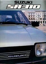Suzuki SA310 SA 310 Prospekt 11/83 brochure