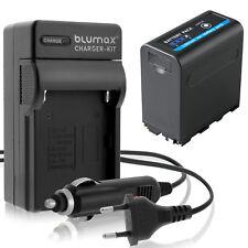 Akku für Sony NP-F980 5V USB DC 8,4V + Ladegerät NP-F970 | 65234-90263-90302