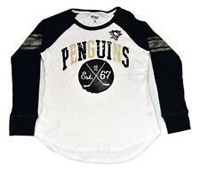 G-III By Carl Banks Womens NHL Pittsburgh Penguins Shirt New XL