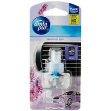 AMBI PURE Car Vent Perfume Lavender-Spa Car Air Freshener-Refill 7.5 ML