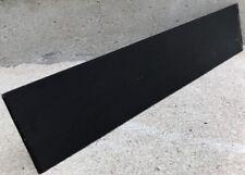 Black Ebony Wood Sanded Headplate 16X3.5X1/8 Overlays Peg Heads Guitars Banjos