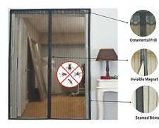 Magic Magnetic Door Mesh Curtain with Invisible Magnet INSECT N MOSQUITO SCREEN