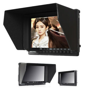 7'' IPS LCD Full HD 1920x1200 1080p HDMI Camera Video Monitor 4K For Sony Canon