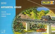 """Faller 282901 Z - vier Auffahrten """" Gerade """" NEU & OvP"""