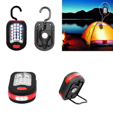 Outdoor 24+3 LED Emergency Tent Light Flashlight Magnet Hanging Hook Work Light