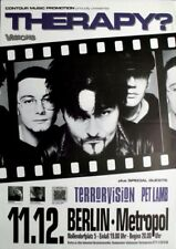 THERAPY - 1994 - Konzertplakat - Terrrovision - Troublegum - Tourposter - Berlin