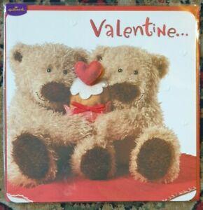 BRAND NEW IN CELLOPHANE HALLMARK TEDDY BEARS VALENTINE'S DAY CARD