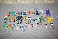 Huge lot vintage Galactus Marvel Avengers Captain planet Spawn loose figures