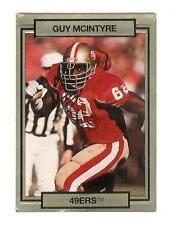 Guy McIntyre 49er del 1990 TRADING CARD # 245 con effetto 3D