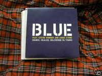 CD Pop Blue Signed Sealed 1T Promo VIRGIN Stevie Wonder