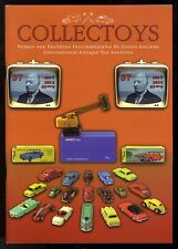 COLLECTOYS  37 eme  vente de jouets anciens    16 novembre 2002