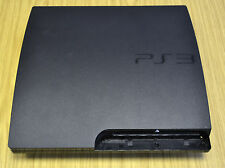 Black Full Housing Shell Case Cover For PlayStation 3 PS3 Slim CECH-2003A/B