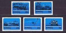 "DE235 TONGA 1981 The 175th anniv. of the capture of the ship ""Port au Prince""MNH"