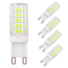5pcs G9 Base Led Light Bulb 64-2835SMD LED 5W 110V 120V Ceramics Light White H