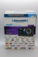 SiriusXM SXPL1H1 Onyx Plus Satellite Radio with Home Kit