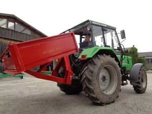 Transportmulde 180 x 120 cm - hydraulisch kippbar, Traktormulde, Heckcontainer