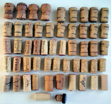 Lot Of 53 Mixed Cork Stoppers * Lot De 53 Bouchons De LiÈGe Assorties