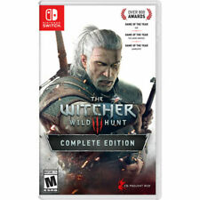 The Witcher III: Wild Hunt Complete Edition Nintendo Switch 2019 Brand New